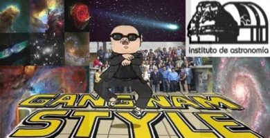 astrónomos anónimos Covarrubias Big Bang Gang nam style